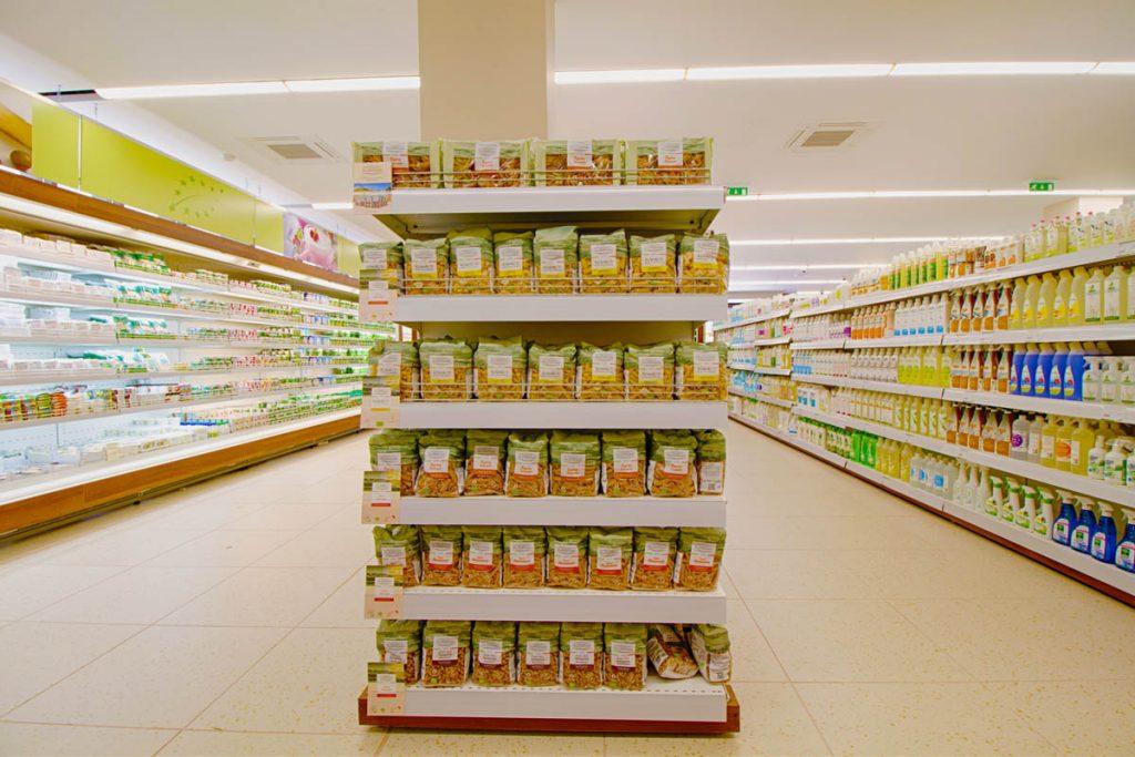 supermercato bio a tirana per la vendita di prodotti biologici